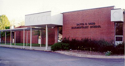 dodd elementary school entrance