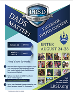 Dads Matter! Facebook Photo Contest Flyer.