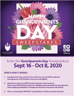 Happy Grandparents Day Sweepstakes