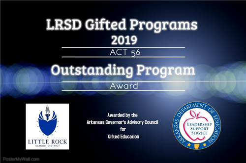 ACT 56 Outstanding Program Award