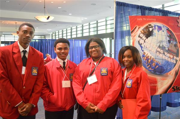 Students at SkillsUSA